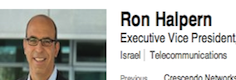 Ron Halpern LinkedIn Screenshot