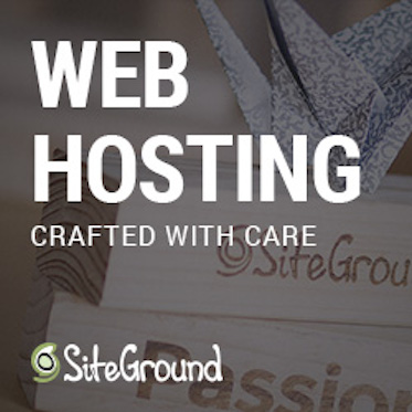 Host your website with Siteground