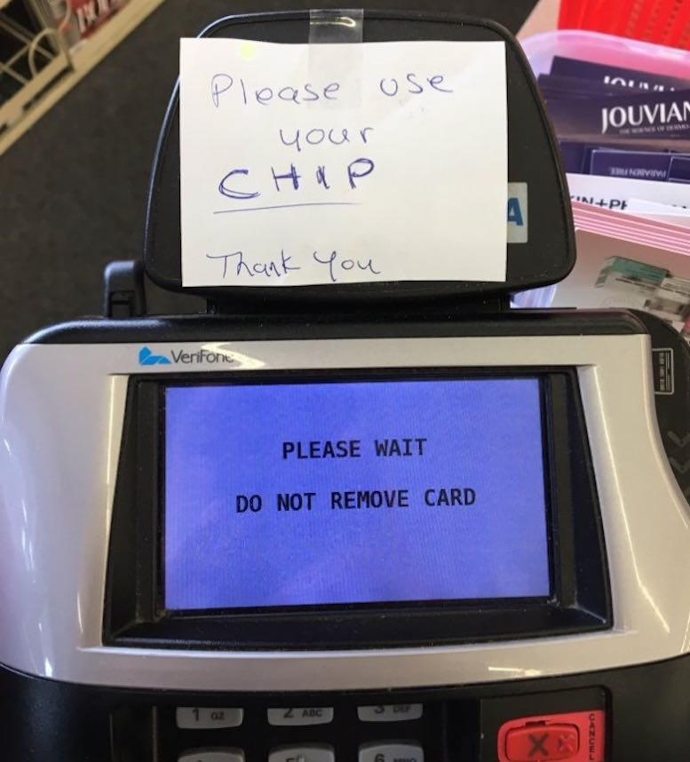 Chip-Card-Message