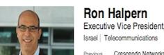 Ron Halpern LinkedIn Screenshot