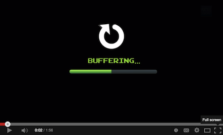 This video is buffering - or is it?