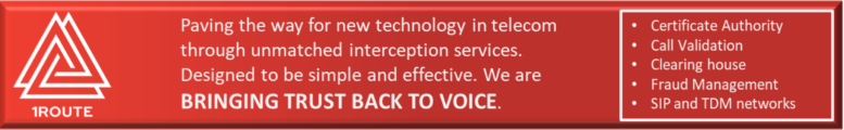 1Route brings trust back to voice